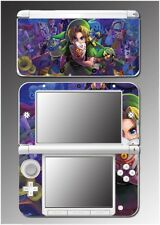 Legend of Zelda Majora's Mask Special Edition Link Game Skin for Nintendo 3DS XL
