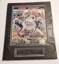 Tom Brady Patriots Most Valuable Player Picture Super Bowl XXXVI Limited Edition