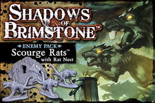 Shadows of Brimstone Board Game - Scourge Rats Enemy Pack