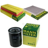 MANN-FILTER PAKET Luftfilter Innenraumfilter Ölfilter Alfa Romeo Mito 955_ 1.4