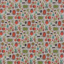 Moda Fabric Dear Mum Bug Party Pebble - per 1/4 Metre