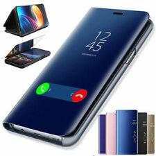 Hülle Samsung Galaxy A51 / A71 Handy Schutz Tasche Flip Case View Cover Spiegel