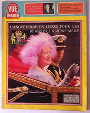 Magazine Point de Vue du 25/07/1980; Les 80 ans de la Reine Mère