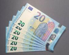 Banknote Billet 20 EURO Lagarde 2015 U037 UA FRANCE UNC