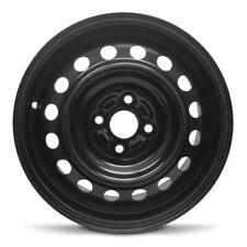 New 2004-2006 Scion Xa 15x6.5 Inch Black Steel Wheel Rim 4 Lug 100mm (Fits: Scion xA)