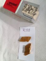 10 NEW VR / WESSON NG 4125L TOP NOTCH CARBIDE INSERTS. GRADE VR663. {R33}