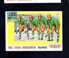 1955 Topps All-American # 68 The Four Horsemen VG