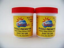 Sunsout Puzzle Preserver Glue 2 -4 Ounce Jars