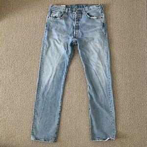 U.K. 8 LEVI\u2019S 501XX VINTAGE 90sY2K Red Tab Dark Indigo Washed Jeans Authentic