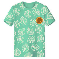 Animal Crossing Timmy & Tommy Cosplay Costume Shirt Cotton Summer T-shirt Tee