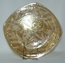 Jeannette Floragold Iridescent Carnival Dinner Luncheon Plates - Many Available!