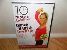 10 Minute Solution: Dance it Off & Tone It Up (DVD, 2007) TONING BAND INCLUDED!