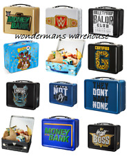 WWE Packed Lunch Box/Tin- Money In The Bank/Certified G/AJ Styles/Roman Reigns