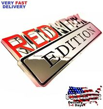 REDNECK EDITION Exterior Emblem TRUCK car LOGO Boat DECAL SIGN Trunk Door Side