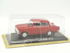 De Agostini Russie 1/43 - Moskvitch 408 412 Rouge