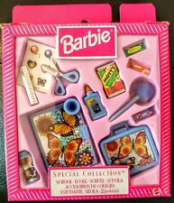 BARBIE  special collection 1990s school accessories used