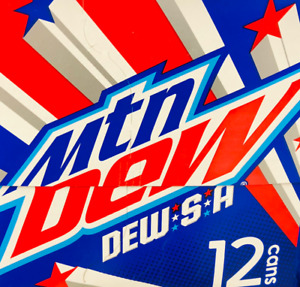 Mountain Dew Dew S A Soda 12 pack Mtn