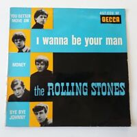 "The Rolling Stones - I Wanna Be Your Man - 7"" Vinyl Single French 1st Press"