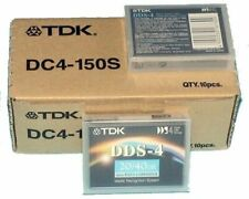 10 x TDK DC-4 150 DDS4 20/40 GB - Data Cartridge - Datenkassette = 14,90€/ Stück