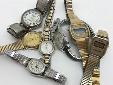 Watch Lot for Repair or Parts; Carriage, Armitron, Lorus, Impex, Pulsar (RF714)
