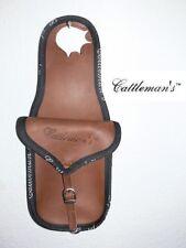 """CATTLEMAN´s Horn-Satteltasche """"Leather"""" - wasserdicht - NEU!!!"""