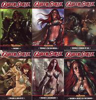 QUEEN SONJA TPB Volume 1-6 Complete Set New/NM $130 Red Sonja  Lucio Parillo