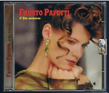 FAUSTO PAPETTI IL DIO SERPENTE VOLUME 4 CD F.C.