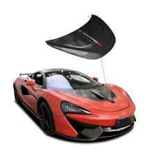full carbon fiber car hood cover bonnet fit for McLaren 540c 570s novit style