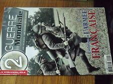 8µ? Revue 2e Guerre Mondiale Thematique n°20 Evolution Armée Française 1919/39