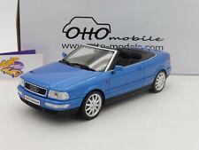 "OTTOmobile OT825 # Audi 80 B3 2.8l Cabriolet Baujahr 1998 "" blaumetallic "" 1:18"