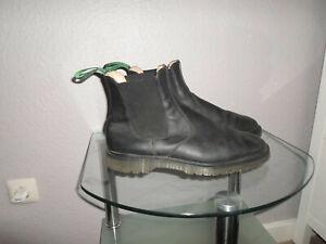 SOLOVAIR Herren Stiefel Chelsea Boots Echtleder Gr.44(10)