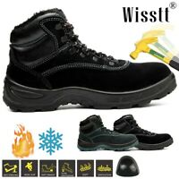 Men's Steel Toe Caps Safety Ankle Waterproof Hiking Boots Lightweight Work Shoes