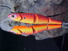 Strike Pro Jointed Flying Fish Floating Minnow Lure EG-079J#A08 in SUNRISE TIGER