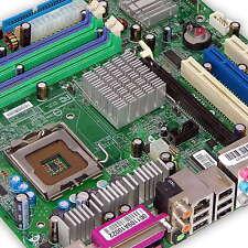 MSI Sockel 775 Mainboard für P4 [ MS-7091 Ver10 ] mit SATA und IDE, DDR 1, PCIe