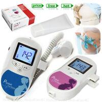 Baby Sound C LCD Ultraschall Fötaler Doppler 3Mhz Baby Herzschlag Monitor + GeL