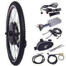 "48V 1000W Ebike Front Wheel Electric Bicycle Motor Conversion Kit Motor Hub 26"""