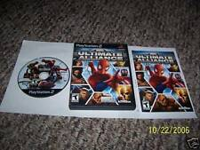 Marvel: Ultimate Alliance (PlayStation 2) COMPLETE ps2