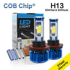 LED Headlight Kit COB Light High Low Beam Bulbs For 2008-2012 FORD Escape