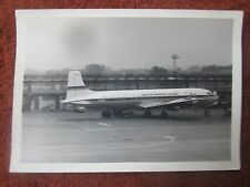 PHOTO DOUGLAS DC-6B UTA AIRLINE F-BGDC 1960'S AEROPORT GATWICK AIRPORT ??