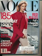 VOGUE August 1999 Fashion Magazine CAROLYN MURPHY Cover by STEVEN MEISEL