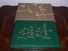 Folio Society FIFTY FABLES OF La Fontaine - illustrated by Quentin Blake