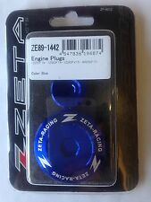 YAMAHA YZF450  YZF 450  YZ450F  2014-2017   ZETA ENGINE PLUGS BLUE