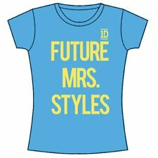 One Direction Ladies Tee: Future Mrs Styles with Skinny Fitting