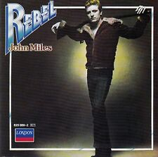 JOHN MILES : REBEL / CD (LONDON RECORDS 820 080-2) - TOP-ZUSTAND