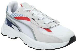 Puma BMW MMS RS-Connect Unisex White Classic Sneakers - 306772-kYQ