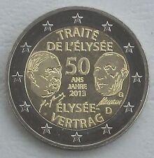 2 Euro Allemagne G 2013 Elysée-traité unz