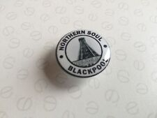 27mm RESIN 3D DOME STICK ON BADGE-BLACKPOOL-NORTHERN SOUL -MOD- SCOOTER-