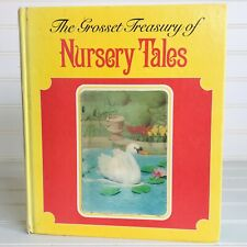 "Rare Vintage Yellow Lenticular 3D ""The Grosset Treasury of Nursery Tales"" Izawa"