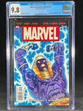 Marvel Universe: The End #2 CGC 9.8 2003 Thor Hulk Appearance Hard to Find A239