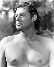 """JOHNNY WEISSMULLER """"TARZAN & THE LEOPARD WOMAN"""" - 8X10 PUBLICITY PHOTO (AB-106)"""